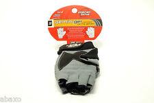 Planet Bike Gemini Gel Cycling Gloves Small Black/Grey