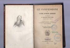 le confessioni di santo aurelio agostino - 1919