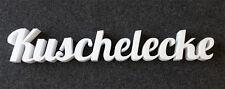 Kuschelecke Schriftzug aus Styropor, 50mm stark ca. 98*16cm, Dekor Buchstaben