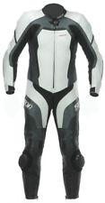 Spada Motorcycle Leather Suit 1 piece Predator White/Black