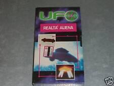 UFO DOSSIER X ... REALTA' ALIENA - VHS OTTIMA