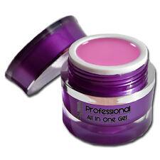 Professional All in One 1-Phasen UV-Gel Rosa Mittelviskos Nageldesign #00638