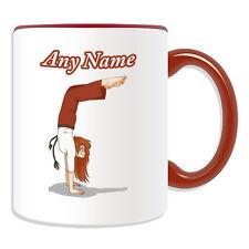 Personalised Gift Brazil Capoeira Girl Mug Money Box Cup Kung Fu Brazilian Name