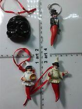 1 CORNO CORNI SCIO' resina porta fortuna portachiavi gobbo horn charms amuleti