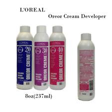 Developer L'Oreal Oreor Creme Hair Color Developer 8oz(237ml)