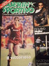 Guerin Sportivo 44 1982 con poster Juventus 1982-83