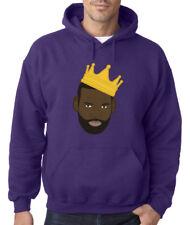 "Lebron James Los Angeles Lakers ""King James PIC"" HOODED SWEATSHIRT"