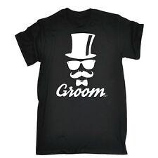 Divertido camiseta-Novio Boda Stag DO-Bigote Cumpleaños Broma Tee T-Shirt