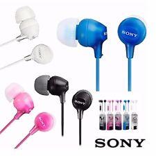 New Original Sony MDREX15AP Fashion Color EX Series Smartphone Earbud Headset ^
