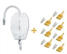 Weekly Pack Incontinence Urology Set (500ml Urine Leg Bag + External Catheter)