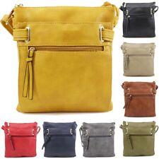 Ladies Cross Body Messenger Shoulder Over Bags Satchel Bag Womens Handbag