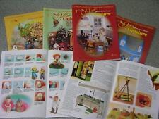 4 riviste LA BACCHETTA MAGICA MINIATURE e creazioni in pasta sintetica roombox 2