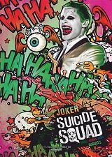 Suicide Squad Film Posters  - Joker - Option 2 - A3 & A4