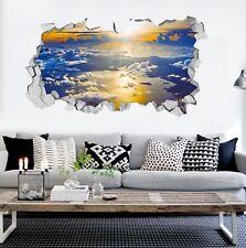 3D Golden Sun Clouds 68 Wall Murals Wall Stickers Decal breakthrough AJ WALL CA