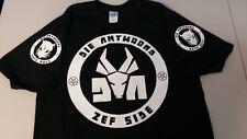 DIE ANTWOORD T-shirt Tee Hip-hop rap ZEF SIDE Ninja Yolandi sleeves