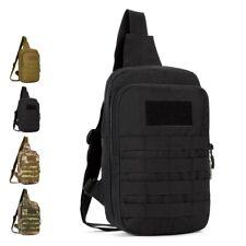 Tactical Chest Pack Molle Daypacks Backpacks Mini Military Crossbody Hiking Bags