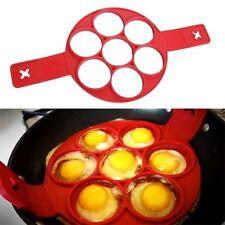 Egg Ring Pancakes Maker Cheese Egg Cooker Pan Flip Mold Nonstick Pancake Maker C