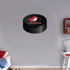 Canada Hockey Association Hockey Puck NHL  Art Wall Decor Sticker  -12'' or 25''