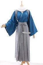MN-11 bleu gris Yamatonokami Yasusada Touken Ranbu Kendo Kimono Cosplay Costume