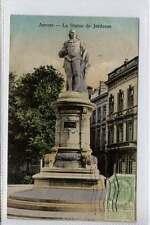 (w16f200-361) ANVERS, La Statue de Jordaens, Belgium 1911 Used G