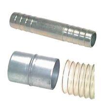 Schlauchverbindungsrohr Stahl verz., Druckluft, Muffe, Verbinder, Schlauch, Rohr