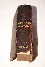 DICTIONNAIRE ABREGE DE LA FABLE,CHOMPRE,1817,RELIE