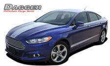Ford Fusion 2013-2019 Dagger Hood & Lower Door Stripe Decal Graphic Pro 3M Vinyl
