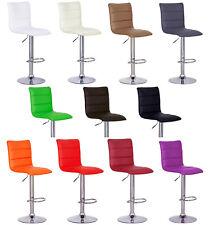1 x Tabouret de bar cuisine réglable cuir synthétique chaise pivotant f029