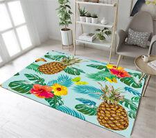 Floor Rug Mat Bedroom Living Room Area Rugs Leaves Pineapple Butterfly Hibiscus