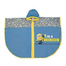 1 in un MINION Kids PORTABORSE Pvc Poncho Impermeabile