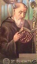 SANTINO HOLY CARD SAN BENEDETTO DA NORCIA ABATE