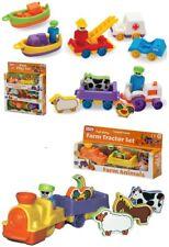 Kids Toy Farm Tractor Animal Set,Vehicle Play Set Baby Toddler Xmas Gift 2+y