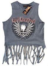 Rare Unworn Official Def Leppard Heavy Metal Skirt VIP Tank Top Tour Shirt M 40