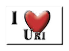 CALAMITA SARDEGNA ITALIA FRIDGE MAGNET MAGNETE SOUVENIR I LOVE URI (SS)--