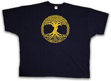 XXXXL VINTAGE YGGDRASIL II T-SHIRT - Celtic Thor Triskel T-Shirt 4XL 5XL XXXXXL