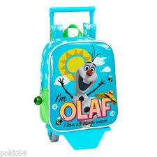 La Reine des Neiges cartable à roulettes Olaf trolley S sac 27 cm crèche 210435-
