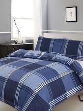 New Hamilton Check Print Duvet/Quilt Cover Bedding Set - Single, Double & King
