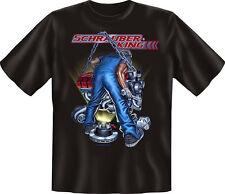 T-Shirt Kfz Mechaniker Handwerk Schrauber King S - XXXL