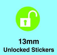 Rete Sbloccato Cellulare Adesivi / Labels-con adesivo rimovibile