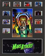 Mars Attacks replica Film Cell Presentation 10x8 Mounted 10 cells