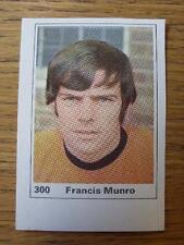 1971/1972 Marshall cavenish Cut-out/etiqueta: Wolverhampton Wanderers-Frank Mun