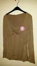 BellyButton Umstandsmode Shirt Tunika Taupe 95%Viscose, 5%Elasthane
