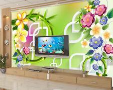 3D Runde Perlen, Blumen 366 Fototapeten Wandbild Fototapete BildTapete Familie