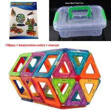 150/100/10 Teile Blocks Magnetic Kinder Spielzeug Magnetische Bausteine Blöcke