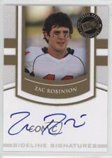 2010 Press Pass Portrait Edition #SS-ZR Zac Robinson Oklahoma State Cowboys Auto