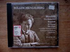Brahms - Ein deutsches Requiem Op. 45 - Willem Mengelberg Rec. 1940 RAR! Neu
