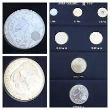 Münzen Spanien Münzen-Set 7 Stück Espana 2001 Juan Carlosi