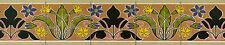 Tumbled Marble Mural Border Bath Art Nouveau Tile #554