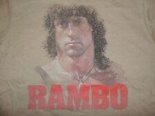 Rambo T-Shirt First Blood Retro 80's Tee Sylvester Stallone John Rambo Classic