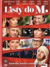 Listy do M.   (DVD + Book) 2011 Stuhr, Malaszynski, Adamczyk  POLISH POLSKI